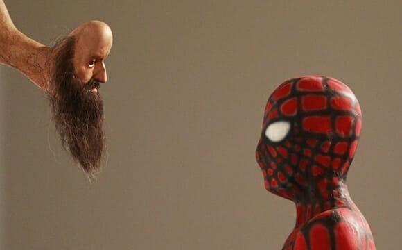 Imagem do dia: Escultura do Homem-Aranha