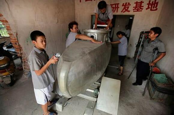 Mini submarino chinês para dois passageiros tem preço baixo, difícil é ter coragem (vídeo)