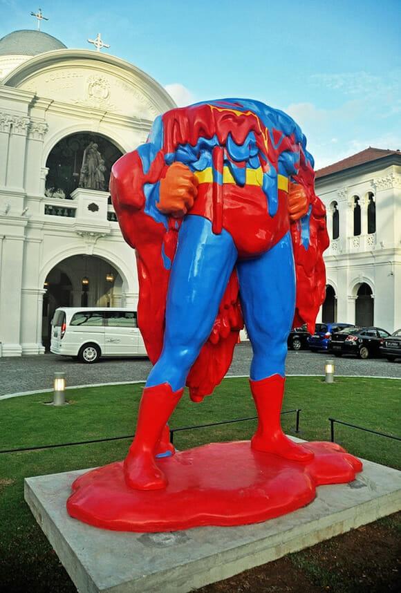 O Super-Homem derreteu! =o
