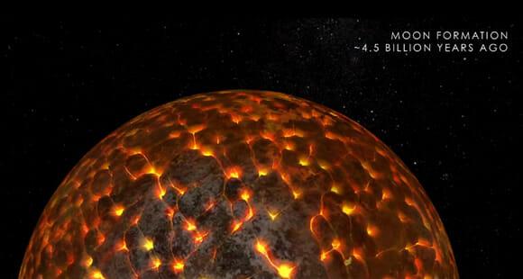 Vídeo incrível da NASA revela como a Lua evoluiu no decorrer dos milênios (vídeo)