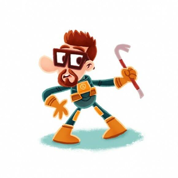 Videogame Heroes mostra personagens famosos do mundo dos games de um jeito diferente