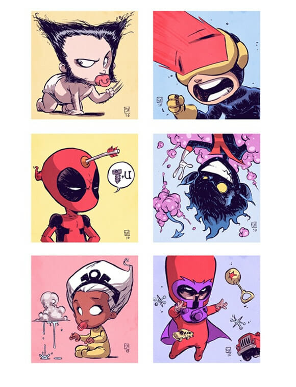 X-Babies: Como eram os X-Men quando bebês