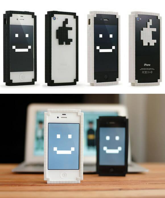 Capas 8-Bits para iPhone dão a ele uma aparência nostálgica e divertida!