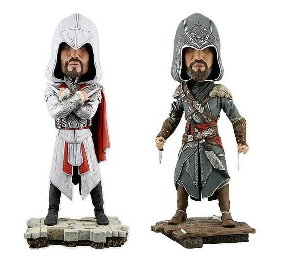 Bobble Heads do personagem Ezio do game Assassin's Creed