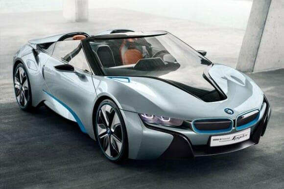 BMW i8 Spyder: Um conversível charmoso com um design futurista de encher os olhos!
