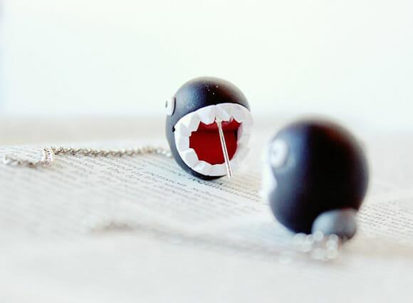 Brincos Chain Chomp do Super Mario grudam na orelha e não largam mais