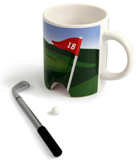 Comece o dia de bom humor com a caneca Golf