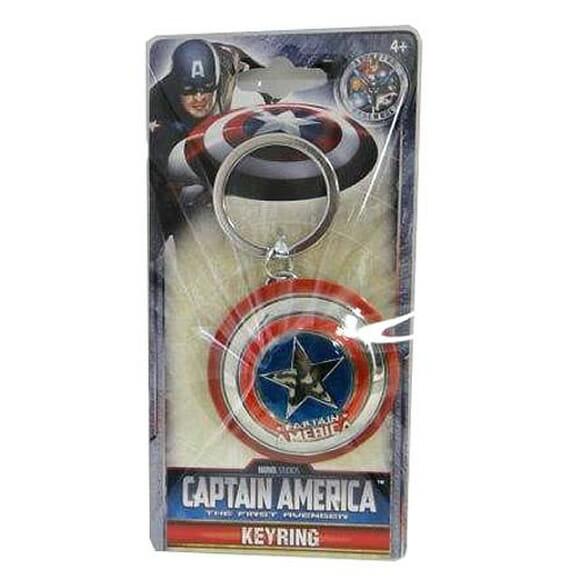 Proteja suas chaves com um chaveiro em forma do escudo do Capitão América!