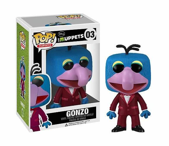 Coleção de bonecos dos Muppets