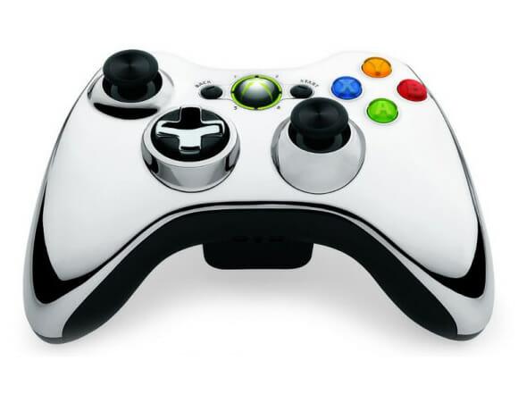 Microsoft anuncia: Vem aí os controles para Xbox 360 cromados!