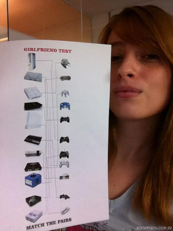 FOTOFUN - Teste de seleção para namorada geek