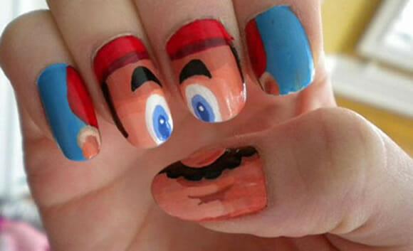 FOTOFUN - Unhas Super Mario