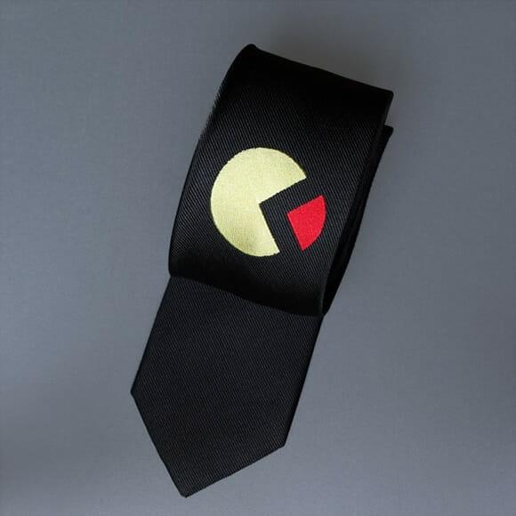 Gravata Pac-Man: Dos games para o pescoço dos geeks!
