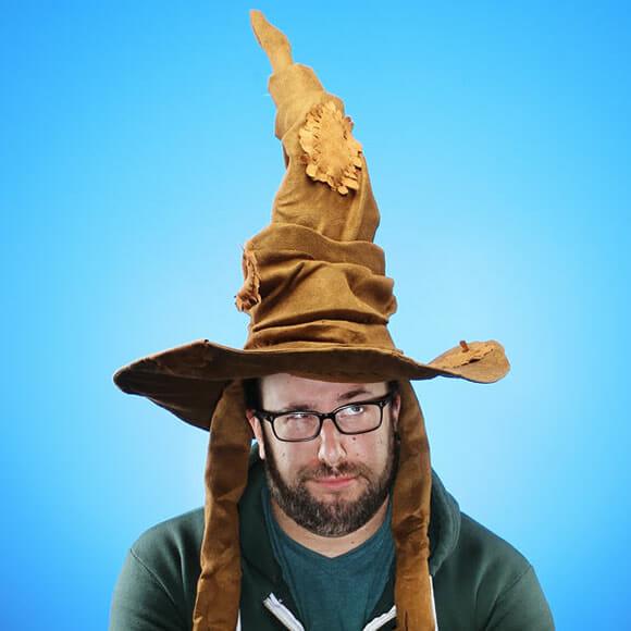 Slytherin ou Gryffindor? Agora dá pra saber com o Chapéu Seletor do filme Harry Potter!