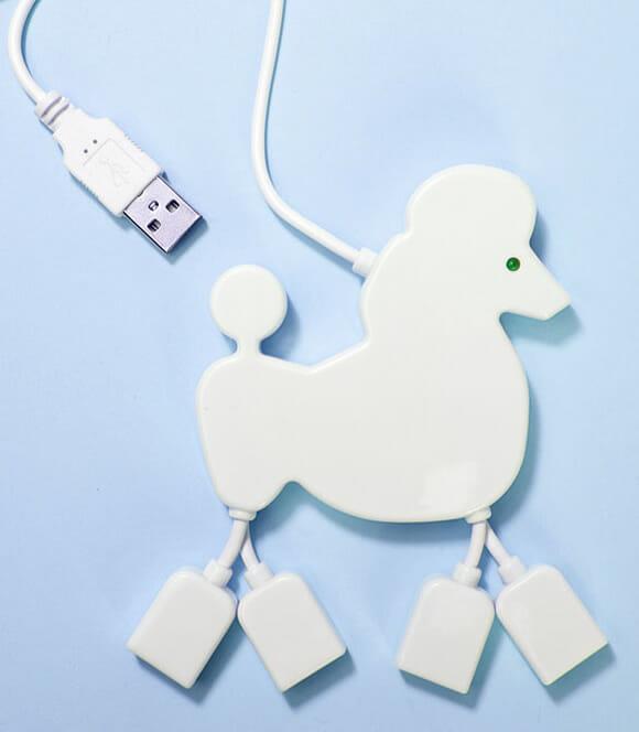 Hub USB Poodle: A melhor companhia para seu PC