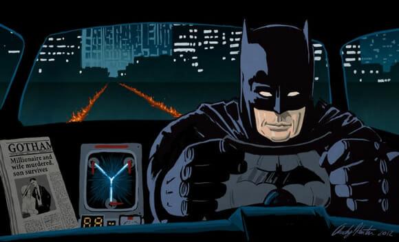 Mashups engraçados misturam LOST com Street Fighter e De Volta Para o Futuro com Batman