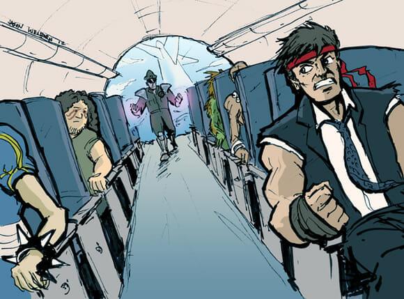 LOST e Street Fighter