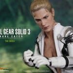 Action Figures Snake e The Boss oficiais do game Metal Gear Solid 3 by Hot toys