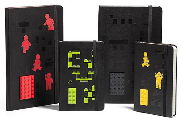 Bloco de anotações de LEGO