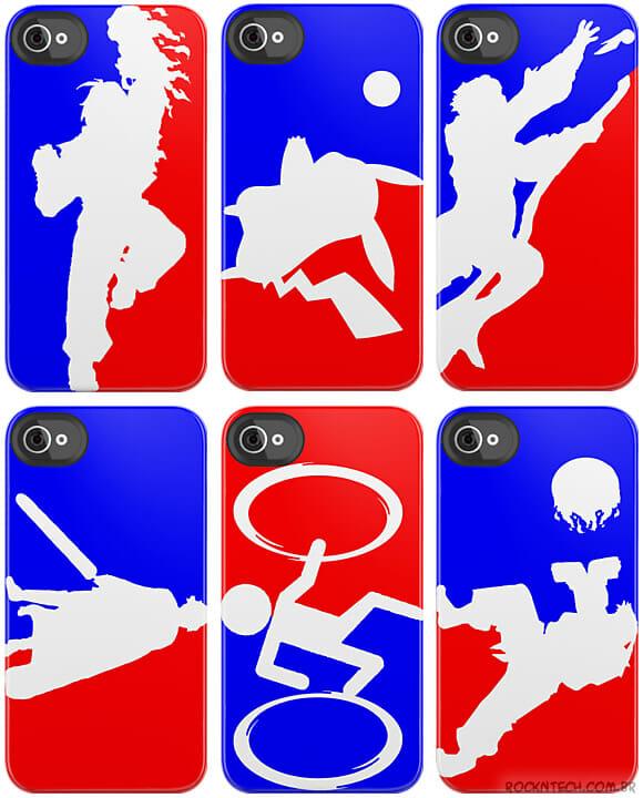 Capas para iPhone unem o logo da NBA com personagens da cultura geek