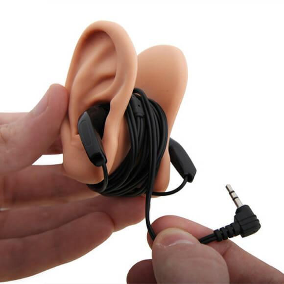 Orelhas para fones de ouvido
