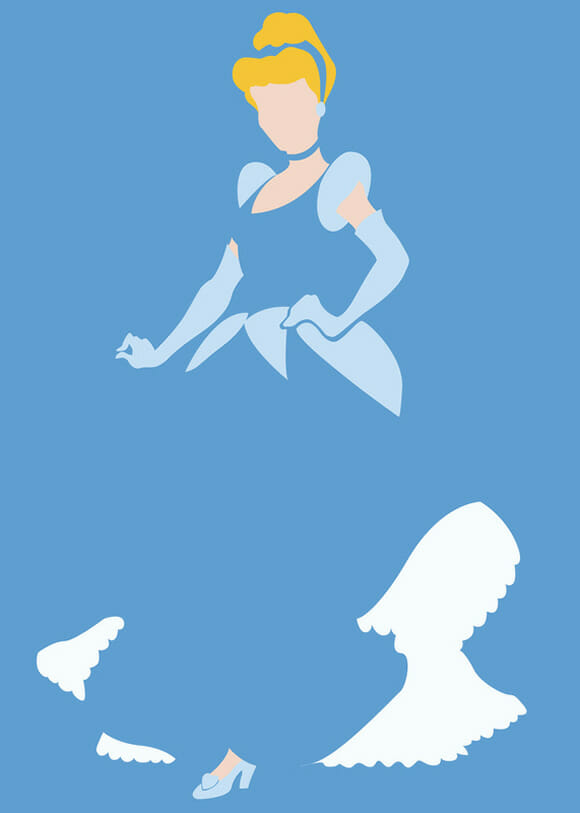 Personagens minimalistas de filmes e games