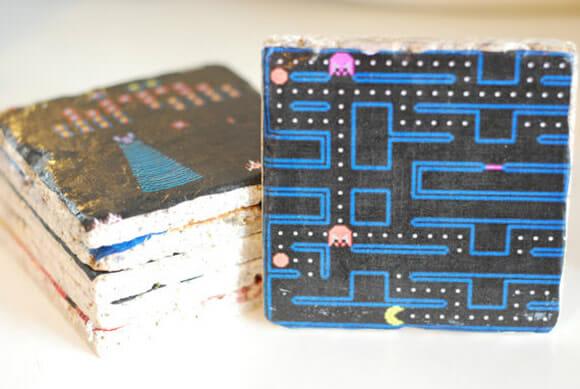 Para gamers: Porta-copos inspirados nos jogos de Atari