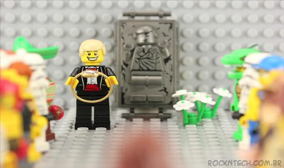 Homem cria stop motion usando LEGO para pedir sua namorada em casamento (vídeo)