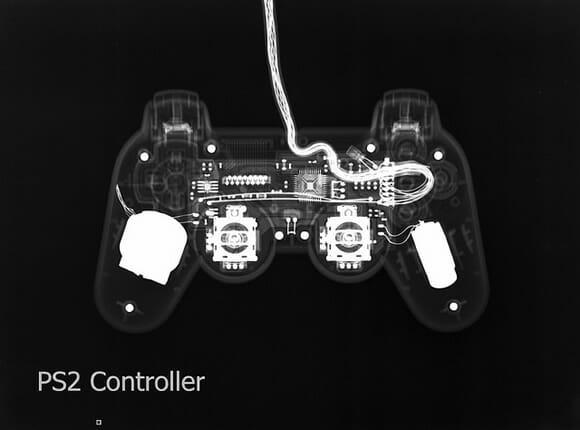 Raio X dos controles de videogames