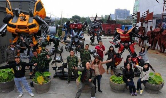 Vai viajar para a China? Visite o parque temático dos Transformers!
