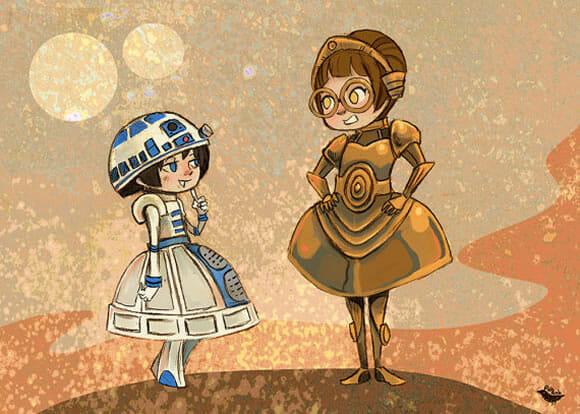 Os vestidos geeks mais legais de todo universo