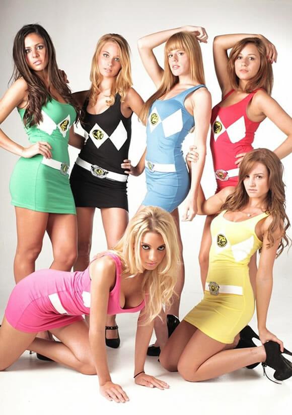 Vestidos dos Power Rangers, Tartarugas Ninjas e Vila Sésamo