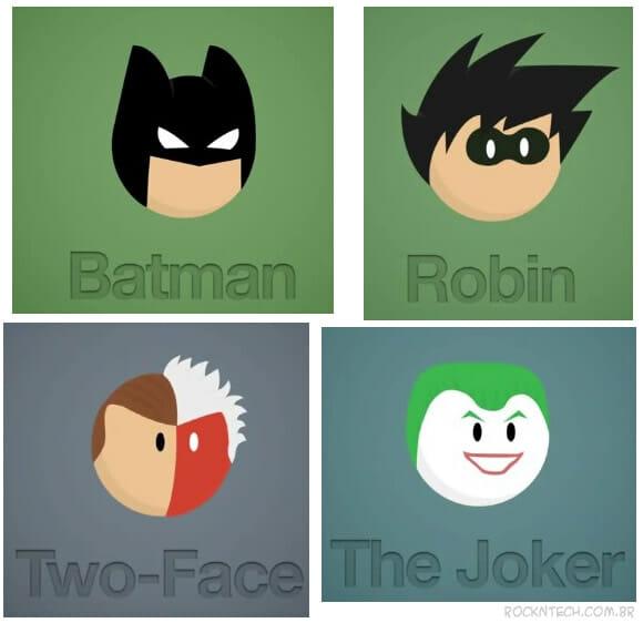 VIDEOFUN - 22 personagens do Batman em 40 segundos