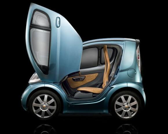 Volpe: O mini-carro que te leva literalmente até a porta do escritório