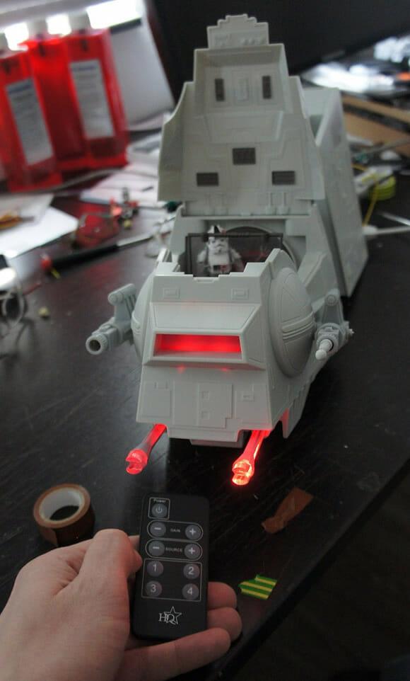 Casemod de PC com o formato de um AT-AT de Star Wars é absurdamente nerd e fantástico!