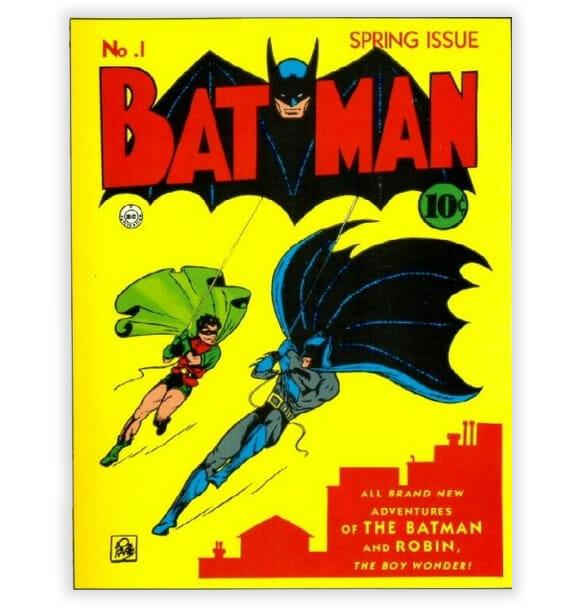 HQ do Batman Nº 1 é leiloada e vendida por US$ 850 mil nos EUA