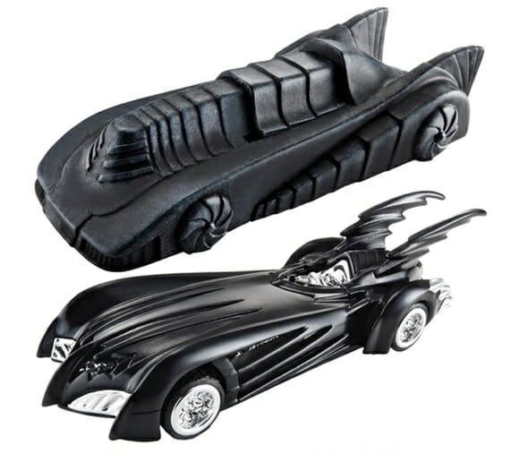 Carrinhos Hot Wheels série Batmóveis