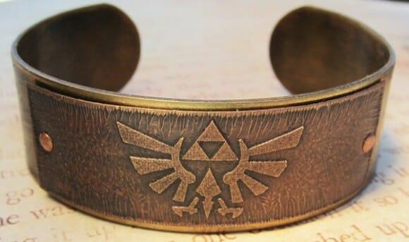 Bijuterias inspiradas no game Zelda