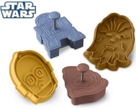 Biscoitos e cupcakes do Star Wars