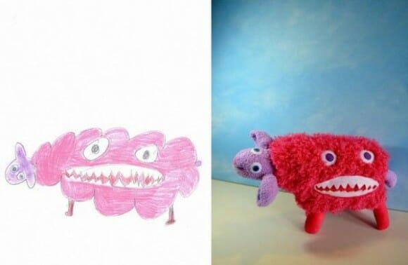 Desenhos infantis que viraram brinquedos de verdade