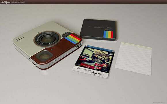 Que tal tirar suas fotos com uma câmera do Instagram?