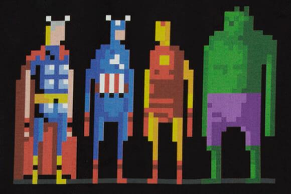 Moda geek: Camisetas dos Vingadores