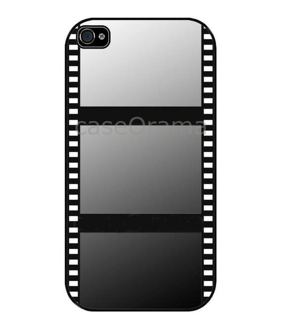 Capa para iPhone imita um rolo de filme fotográfico