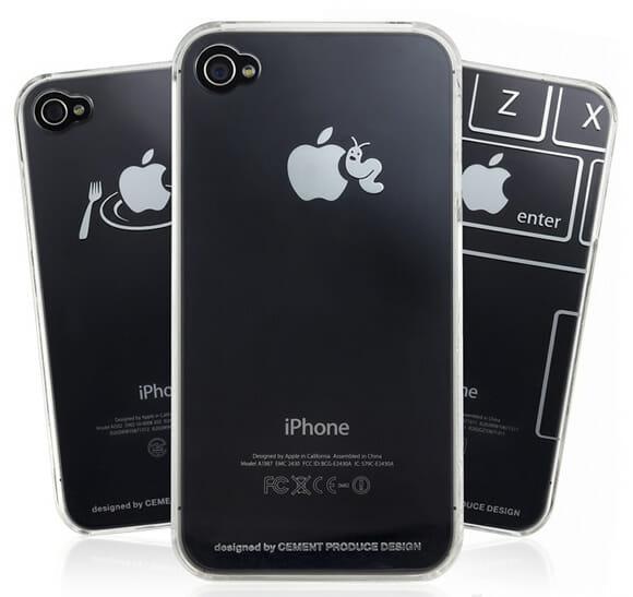 Capinhas criativas para iPhone brincam com o logotipo da Apple