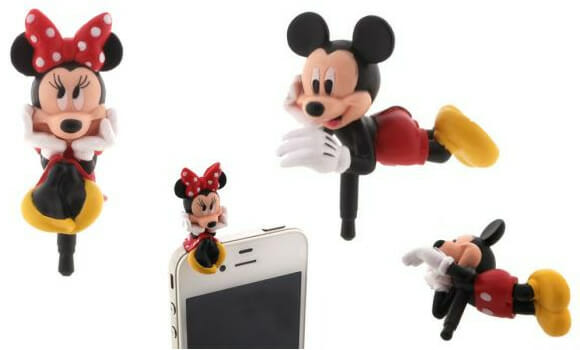 Charapins para smartphones do Mickey e da Minnie