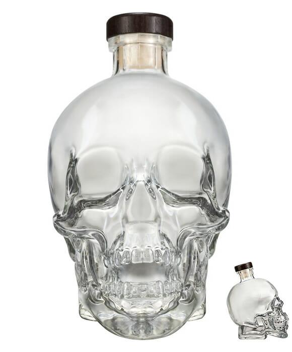 Crystal Head Vodka - A garrafa da morte