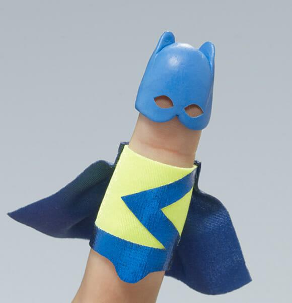 Dedos Super-Heróis