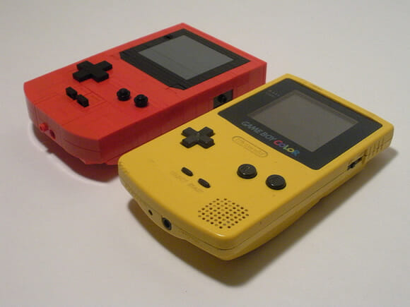 FOTOFUN - Game Boy Color de LEGO