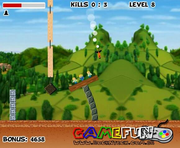 GAMEFUN - Destroy the Village