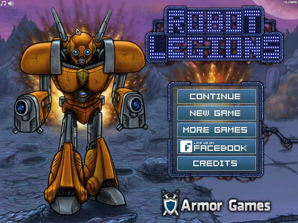 GAMEFUN - Robot Legions